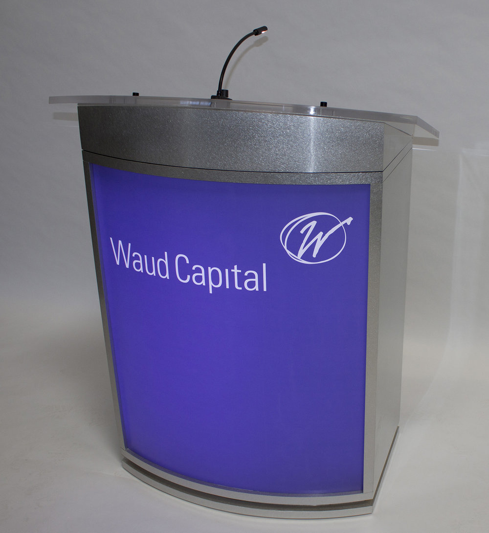 Waud capital lectern