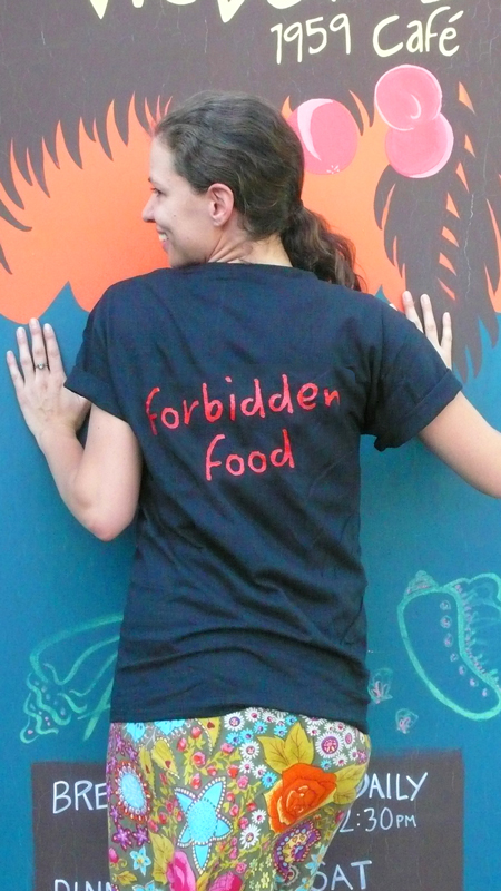 Back 1  'forbidden food'