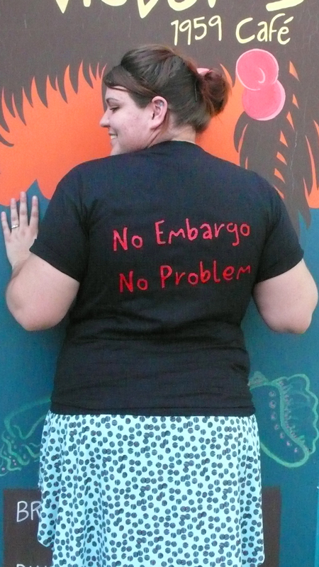 Back 2  'No Embargo, No Problem'