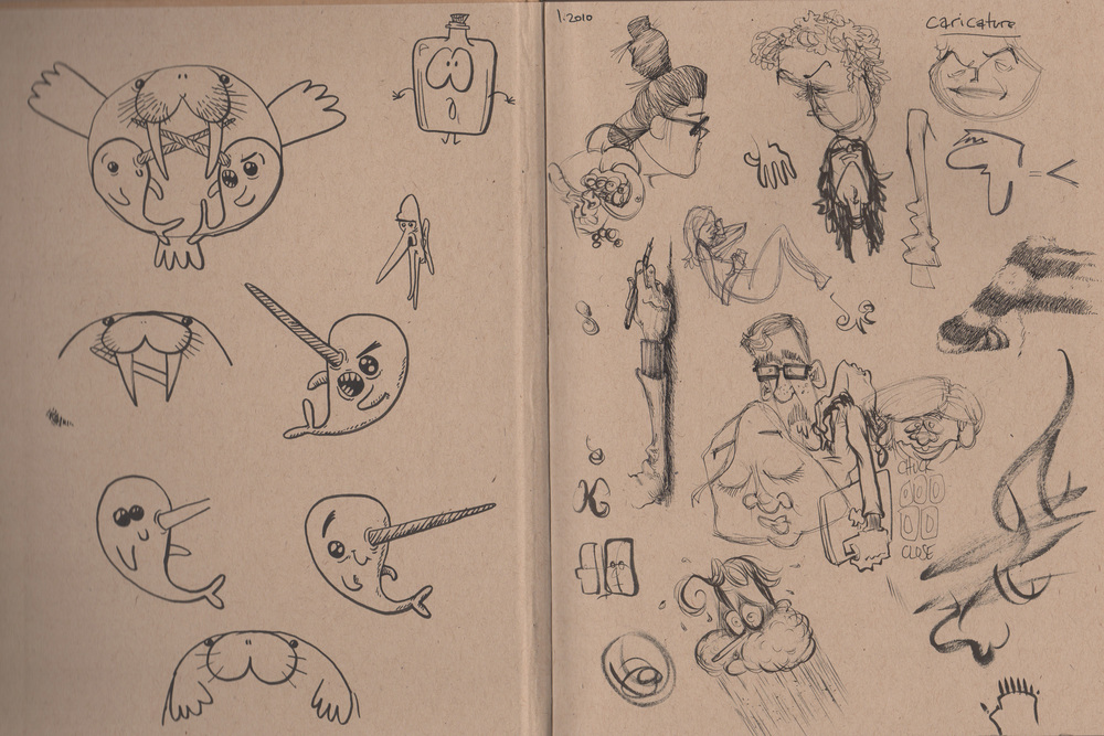 Sketchbook #1