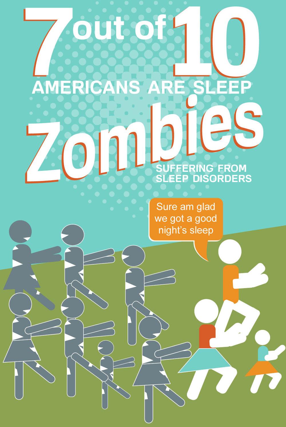 Sleep Zombie Poster