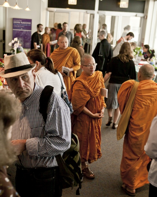 Monks and Others in the Lobby