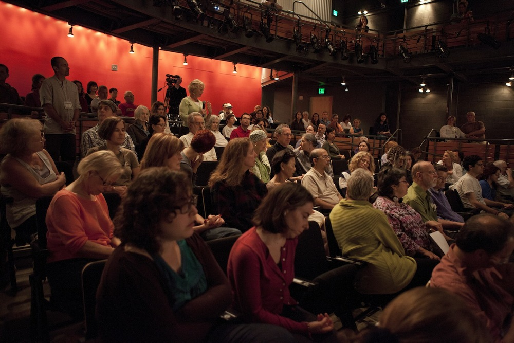 The Audience at Woolly Mammoth