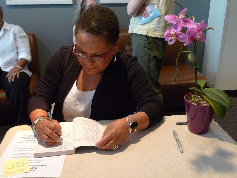 Ruth King at Book Signing