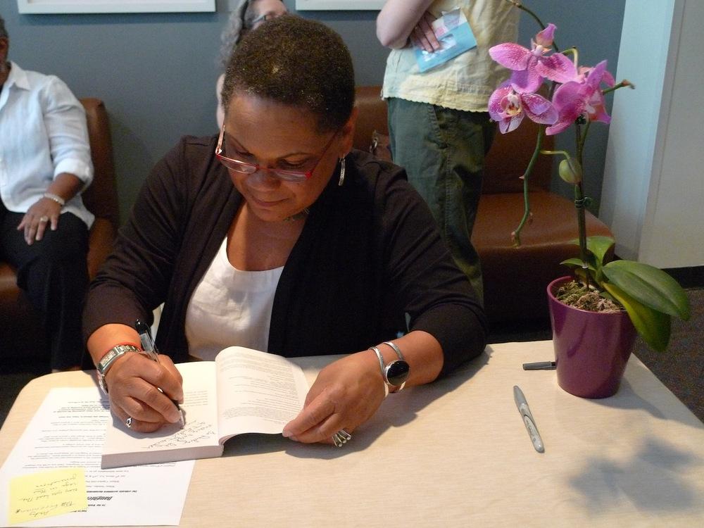 Ruth King at Book Signing