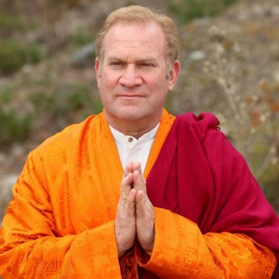 LAMA SURYA DAS  Spiritual Direct of Dzogchen Center, poet, chant master, and author of several books on Buddhism