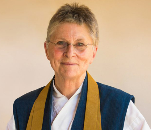 ROSHI JOAN HALIFAX  Founder, Abbot, and Head Teacher of Upaya Institute and Zen Center in  Santa Fe, New Mexico