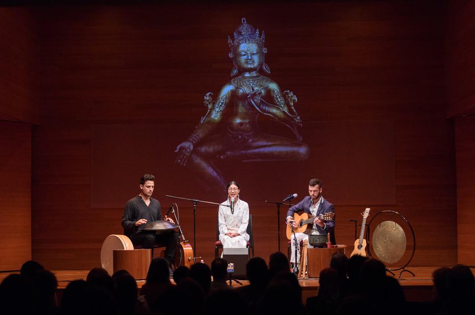 Drukmo Gyal Dakini performs