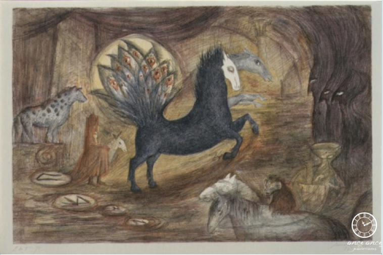 Leonora Carrington. Caballo, 1997