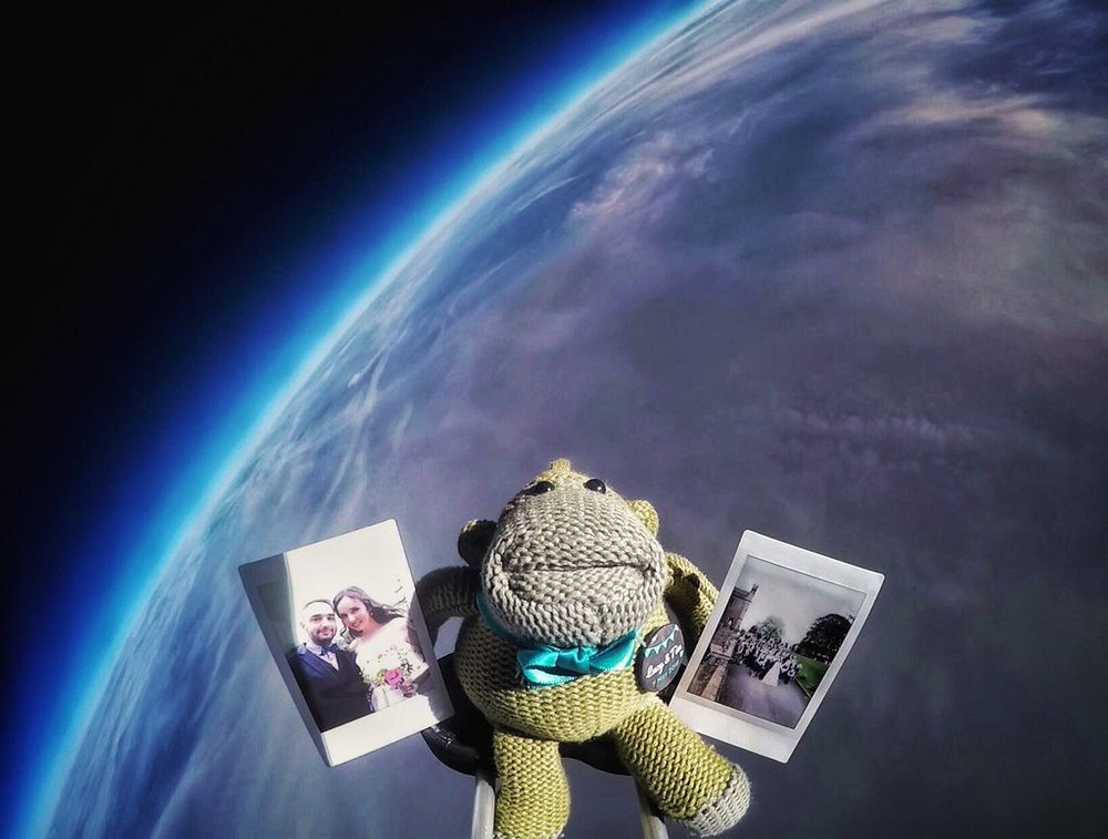 Albert in space