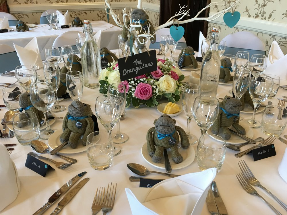 Wedding favours and decorations