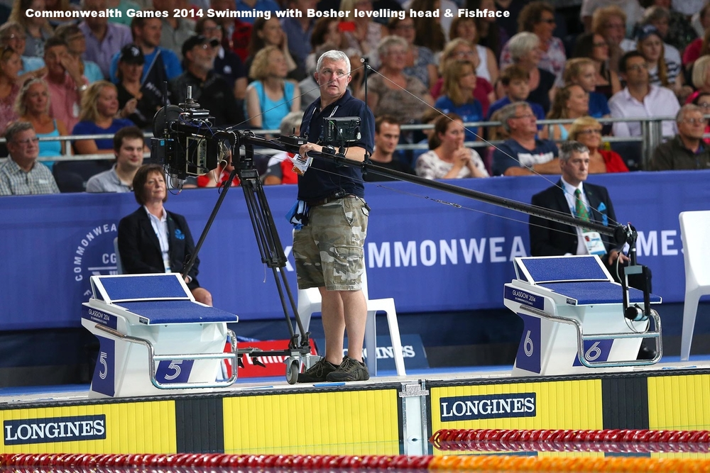 Using Fishface & the unique Bosher levelling system at the 2014 Commonwealth Games in Glasgow.