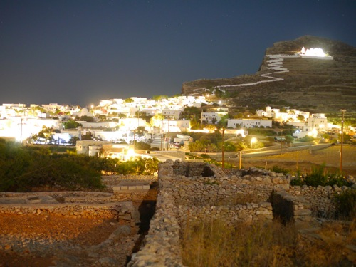 Folegandros night