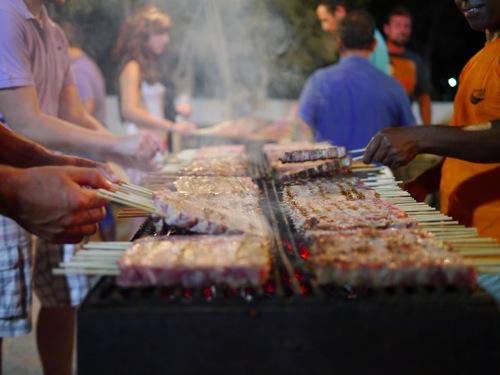 Milos Panagrri meat