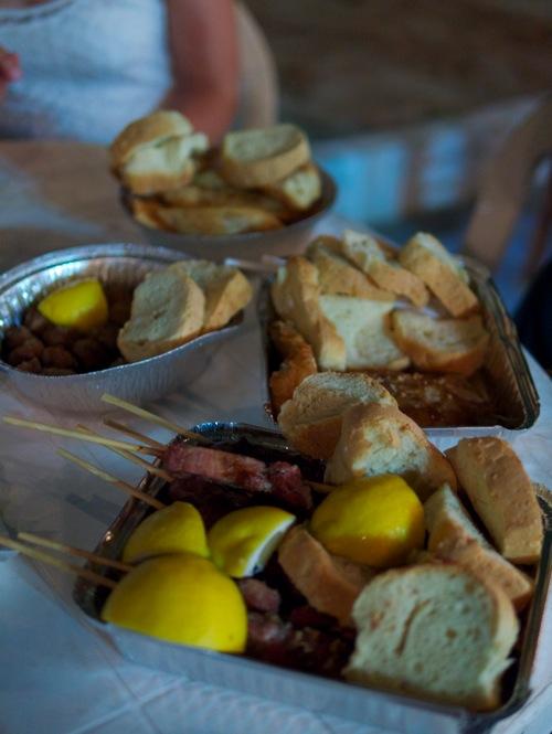 Milos Panigiri Food 1