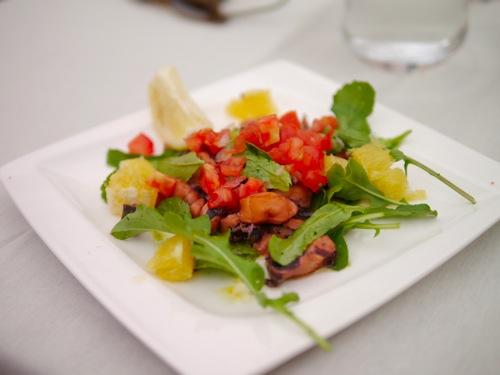Pula Kantina Octopus Salad