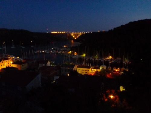 Skradin Fortress View