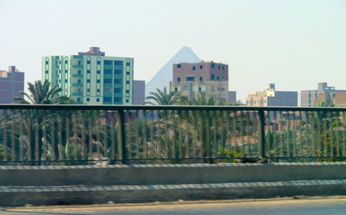 Giza from the highway