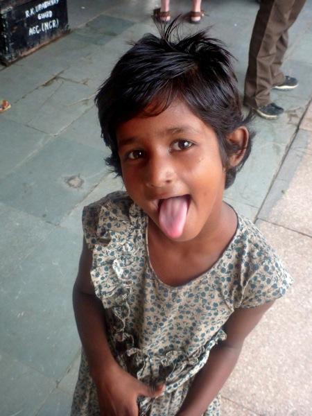 Agra Beggar Girl