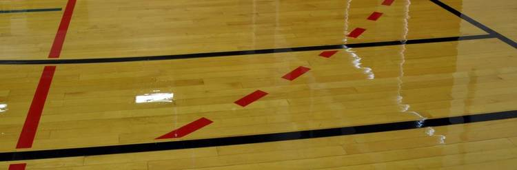 Just Say No When Asked About Using Tape On A Wood Gym Floor Pur O