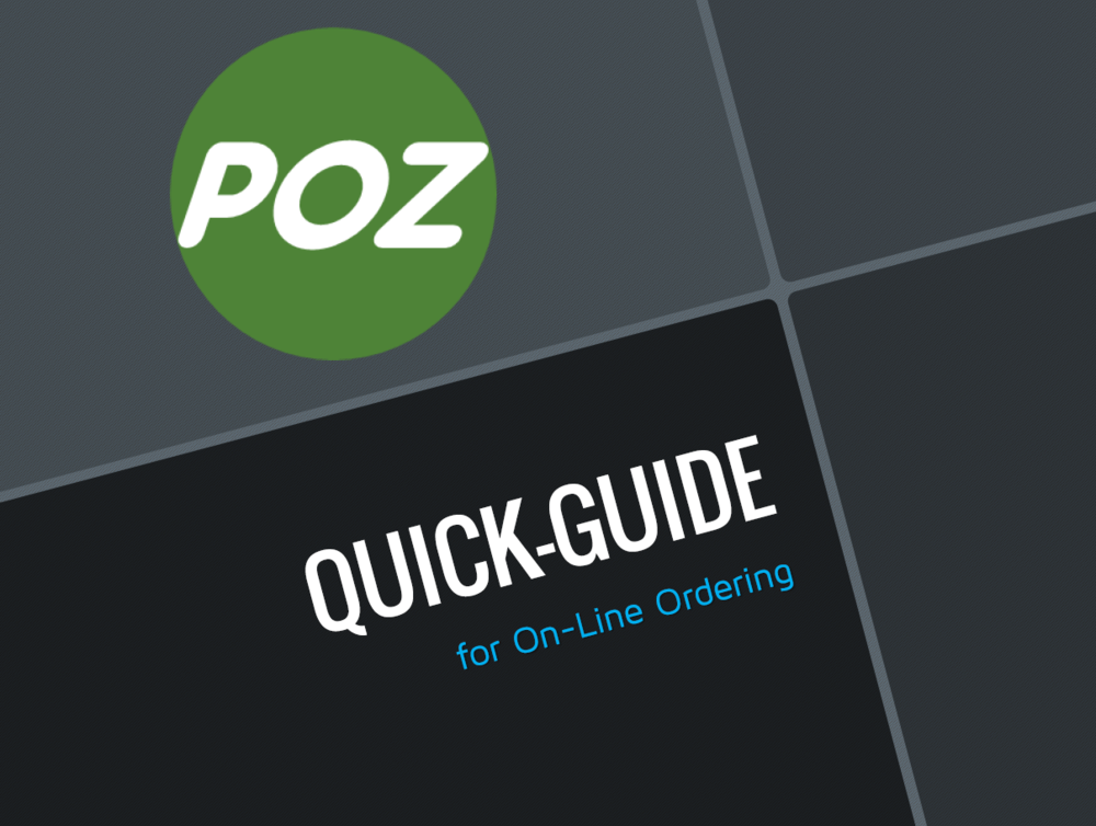 On-Line Ordering Tips Guide