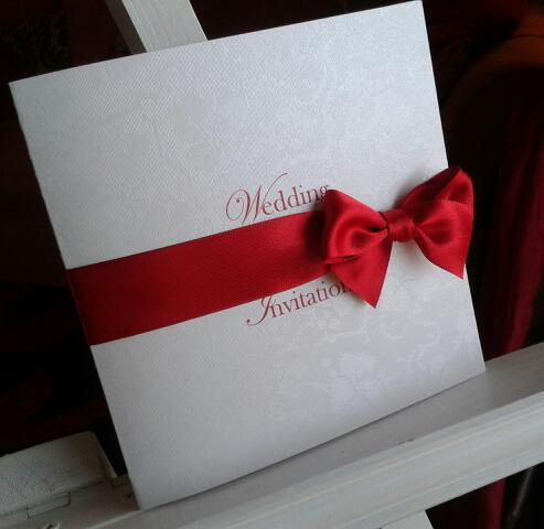Luxury designer wedding stationery from VivienB's, in Oxfordshire.