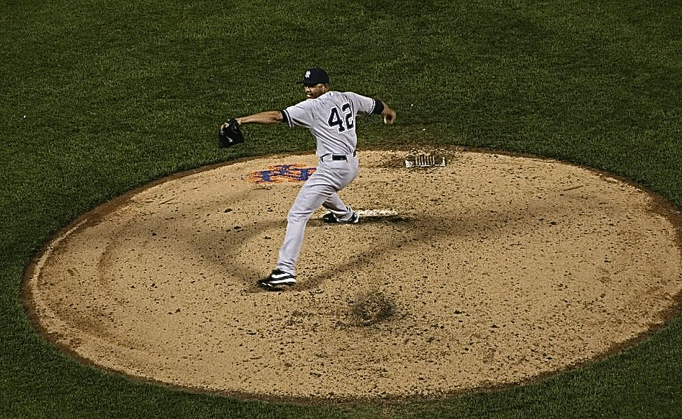 Mariano's last pitch at Shea