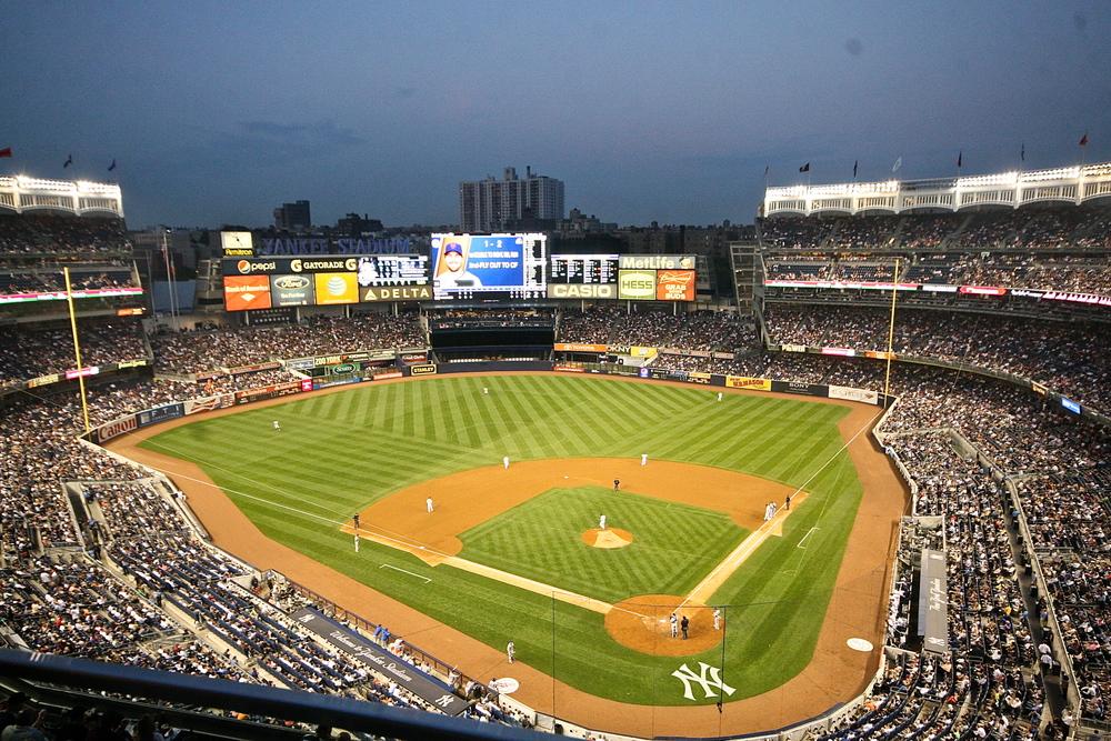 Bird's Eye view of the stadium