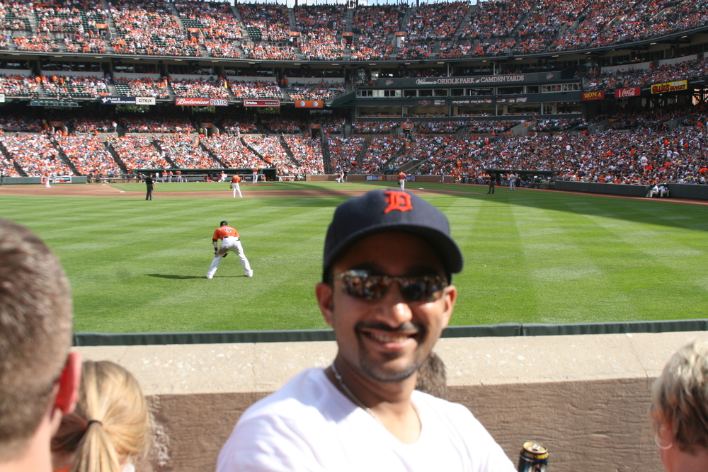 Me and a packed Camden Yards