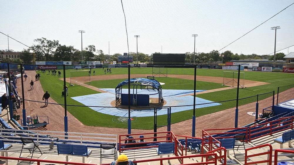 Florida Auto Exchange Stadium, home of the Toronto Blue Jays