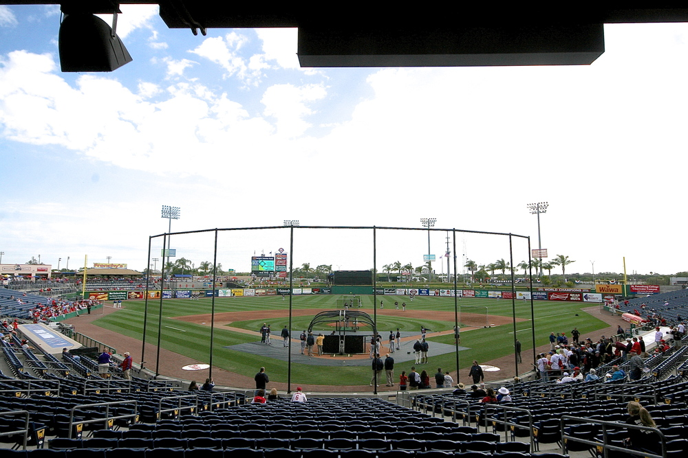 Bright House Field, home of the Philadelphia Phillies