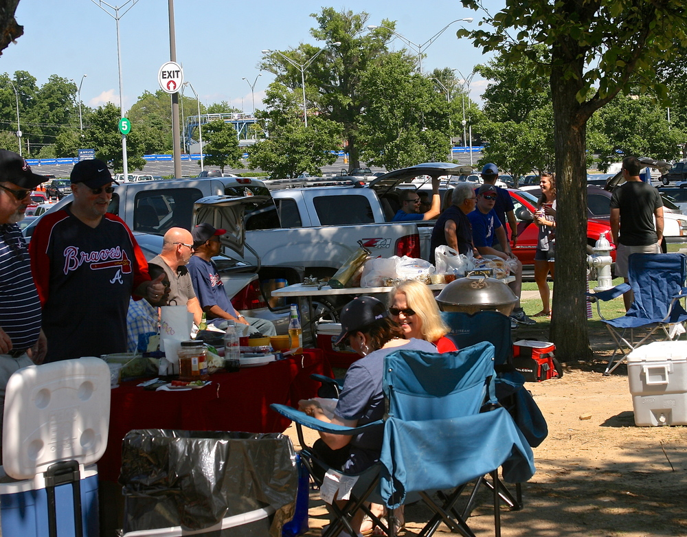 Tailgating at Turner Field