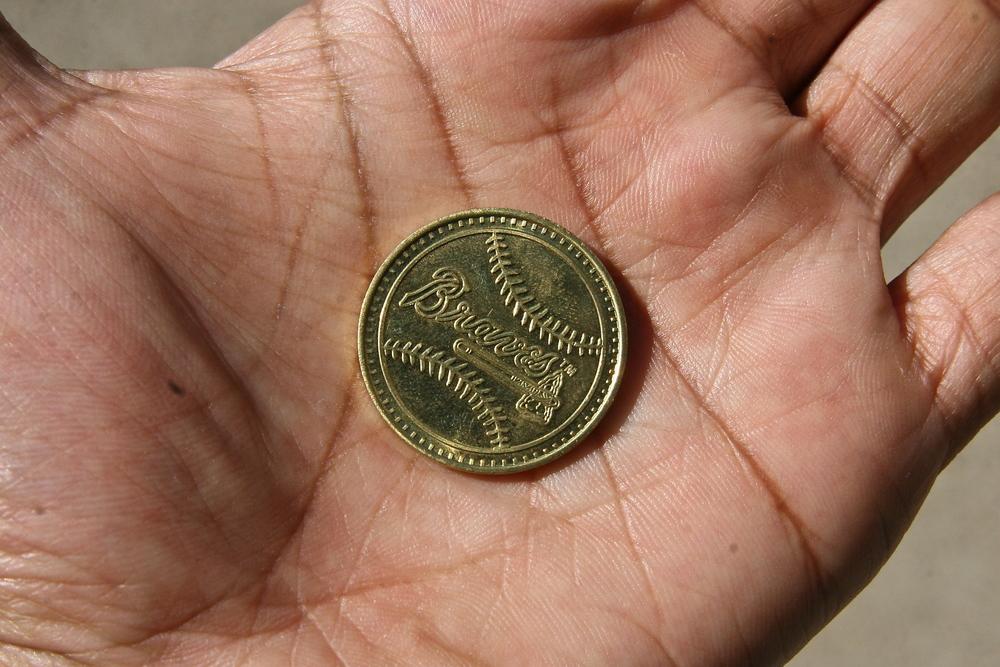 Braves museum token