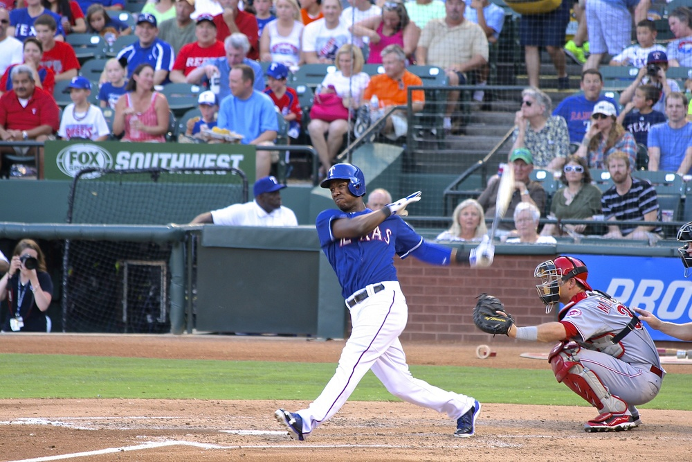 Jurickson Profar takes a hack