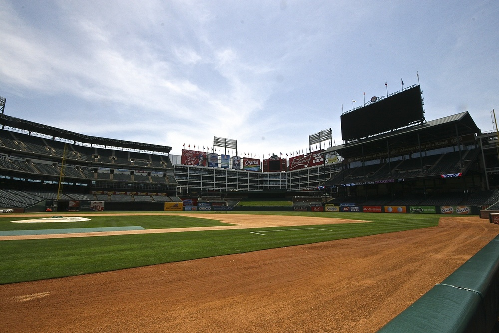 View from Dugout