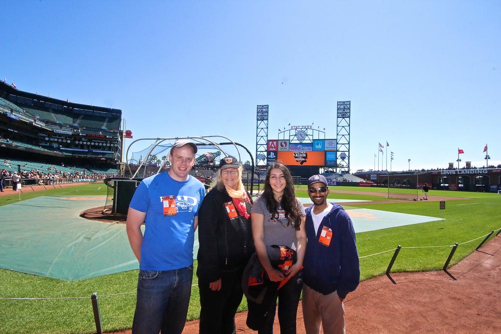 Rindler, Barbara, Adela, Me during BP