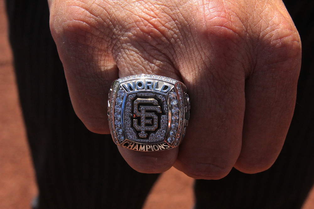 Jack's World Series ring