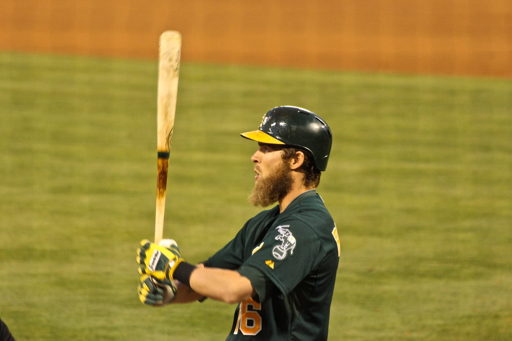 Josh Reddick and his beard