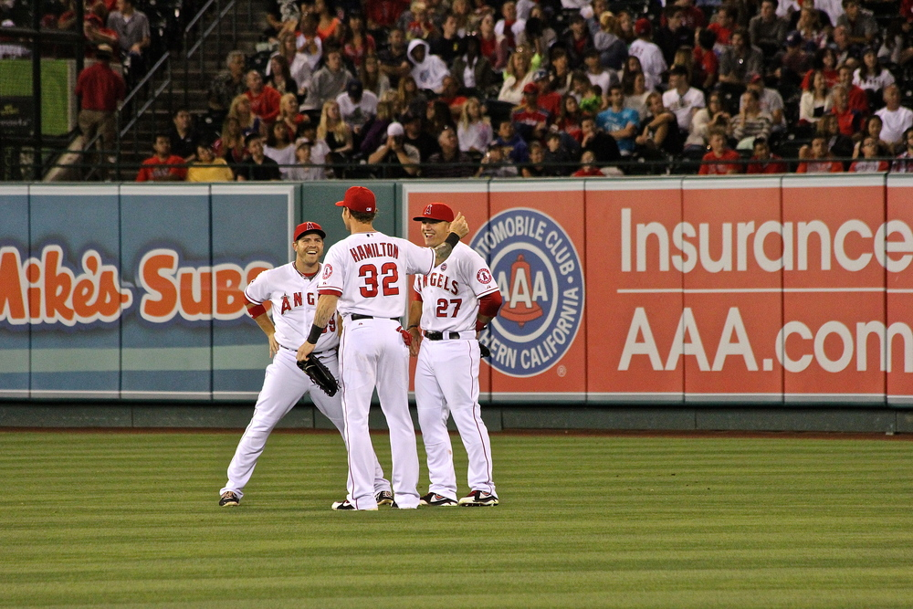 Angels in the Outfield (sorry...had to)