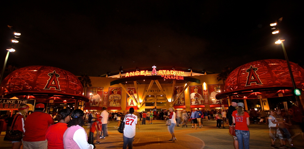 Good night Angels Stadium