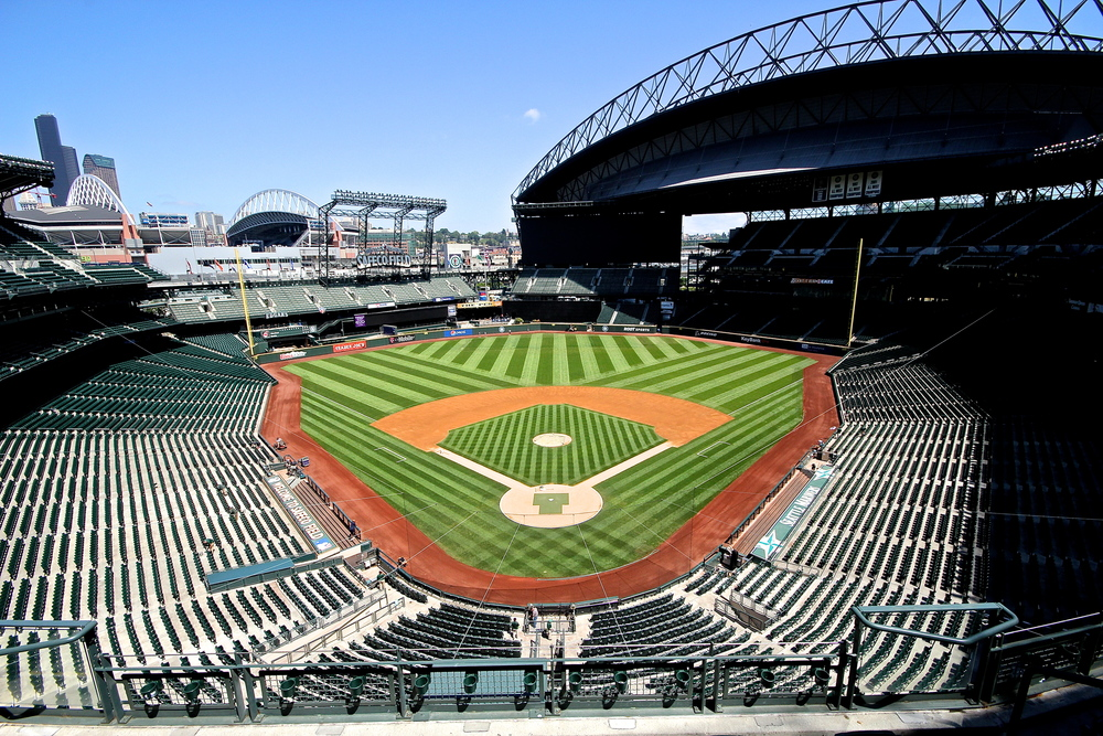 Empty Safeco Field