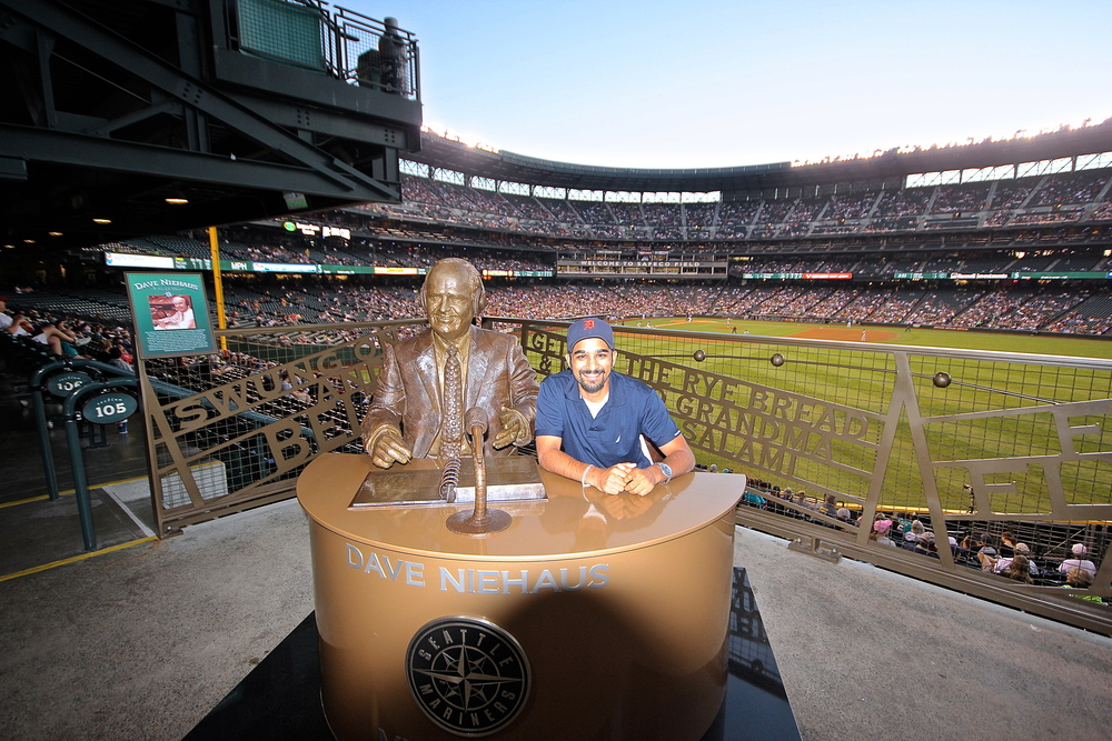 Me and Dave Niehaus