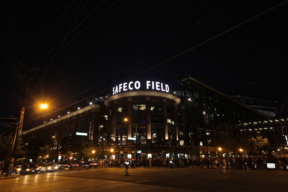 Safeco at night.JPG
