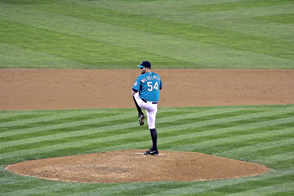 Tom Wilhelmsen in for the save