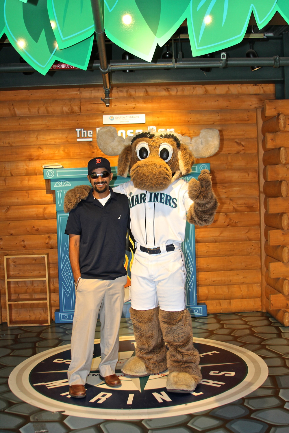 Me and Mariner Moose