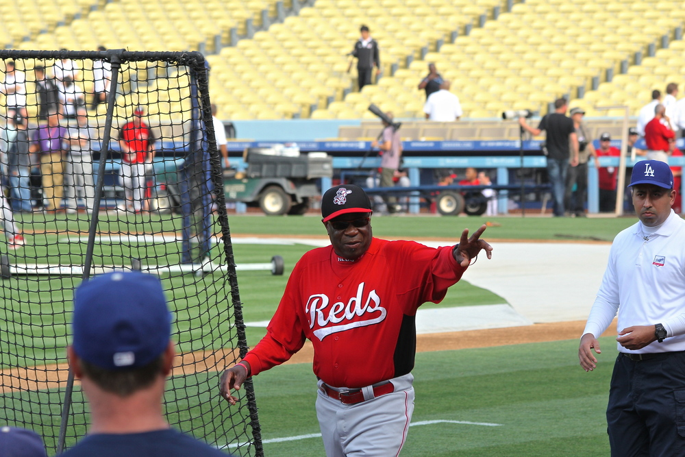 Dusty Baker says hello