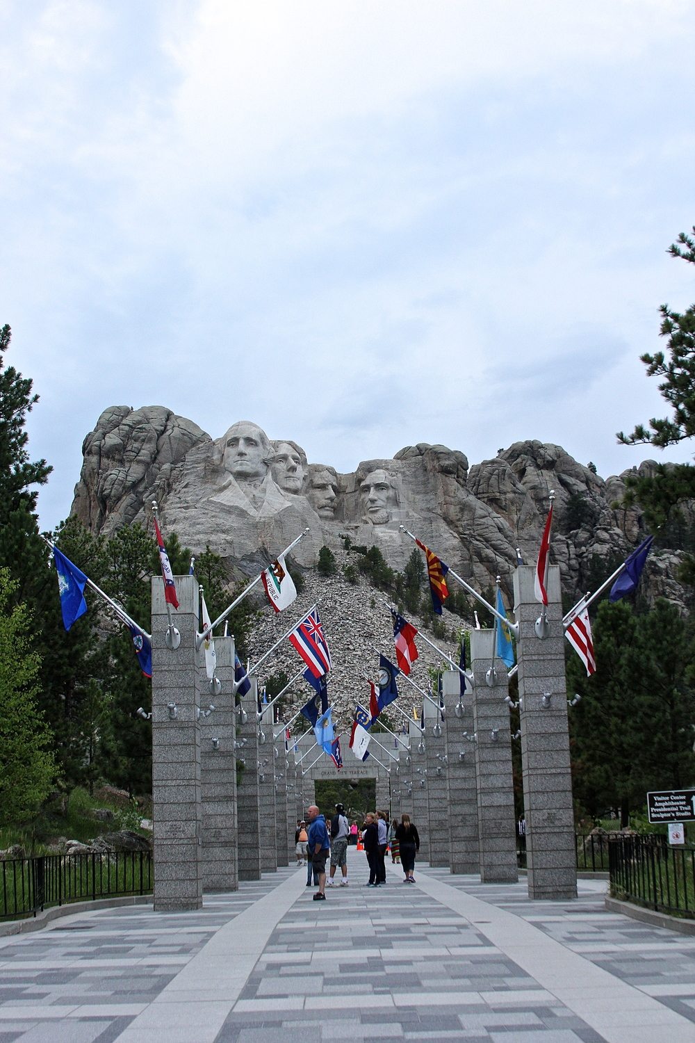 Mount Rushmore and flags.jpg