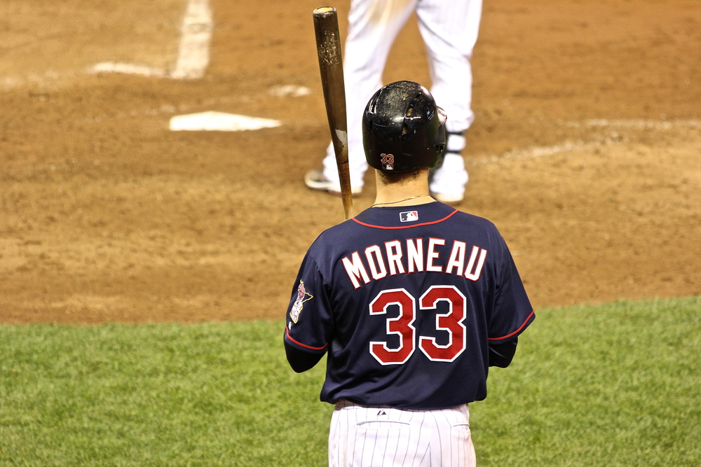 Justin Morneau's last day in a Twins uniform?