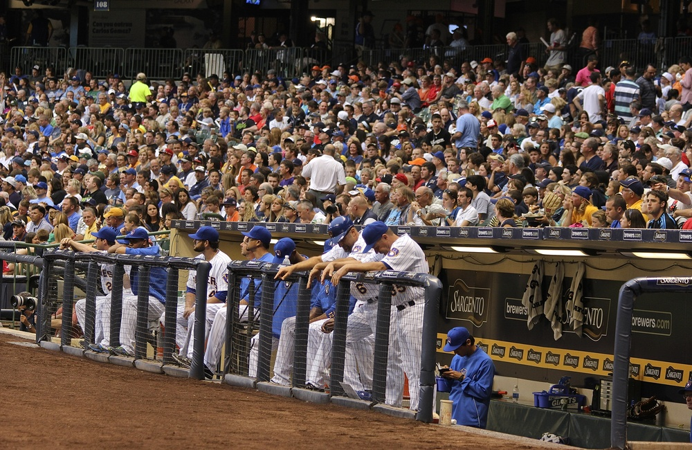 Brewers dugout