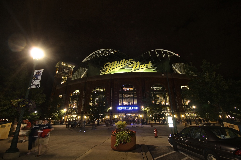 Good night Miller Park
